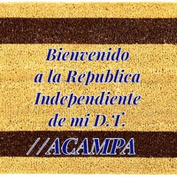 Felpudo Acampa